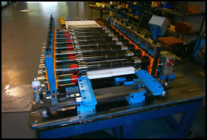 Panel Roll Former